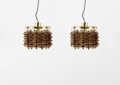 Hans Agne Jacobsson, 'Pair of ceiling lamps model T581/H - Estrella by Hans Agne Jakobsson', 1960-1969