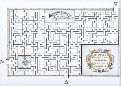 Andres Matias Pinilla, 'Mapa Laberinto #4', 2016