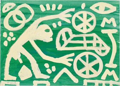 A.R. Penck, 'Kopenhagener Schule', 1999