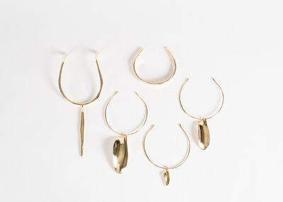 Jaimal Odedra, 'Circlet and Pendant Necklaces', 2018