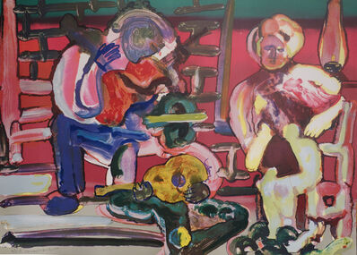 Romare Bearden, 'Louisiana Serenade from Jazz Series', 1979
