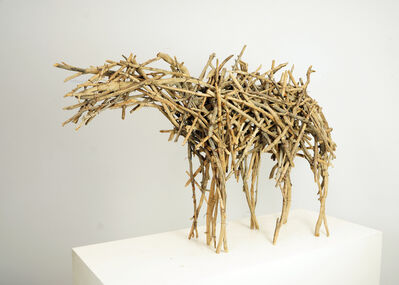 Deborah Butterfield, 'Small Dry Fork Horse', 1978