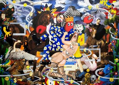 Philip Colbert, 'Appropriation Lovers', 2018