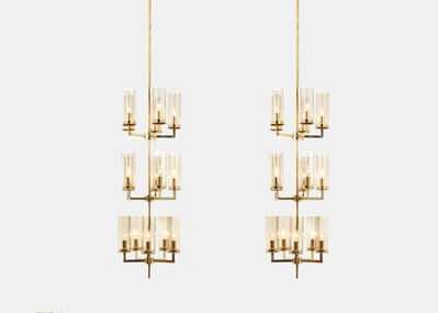 Hans Agne Jacobsson, 'Pair of ceiling lamps by Hans Agne Jakobsson', 1960-1969