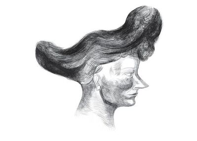 Sarah Peters, 'Woman with a Pointed Nose', 2012