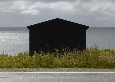Ned Pratt, 'Black Shed, Port aux Port', 2016