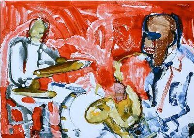 Romare Bearden, 'Out Chorus (Rhythum Section)', 1979