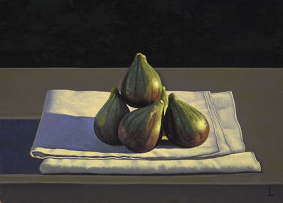 David Ligare, 'Still Life with Figs on Cloth', 2014