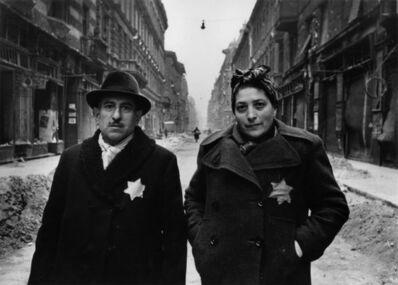 Yevgeny Khaldei, 'Jewish Couple, Budapest, 1945', 1945