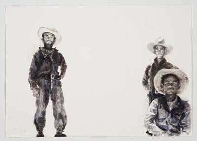 Hung Liu 刘虹, 'Melon Field Workers', 2016