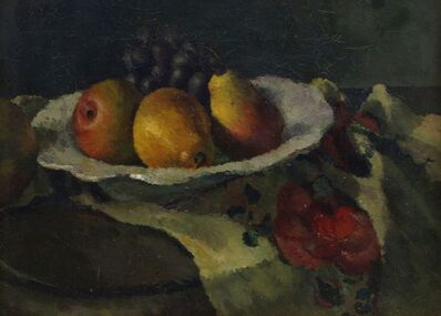 Dorothy Hepworth, 'Still Life with Pears and Grapes', c. 1930