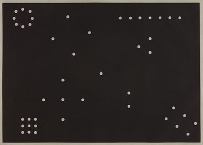 Mel Bochner, 'Rules of Interference', 1974