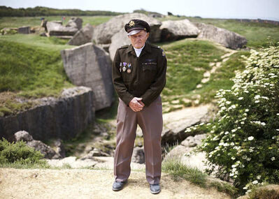 "Roland Geisheimer, '""Thank you for your service"", Pointe du Hoc, France', 2009"
