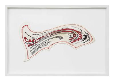 Robert Lazzarini, 'rat poison sticker', 2010
