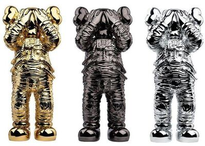 """KAWS, 'Holiday Space: 11.5"""" 20th anniversary edition. Complete set of 3.', 2020"""
