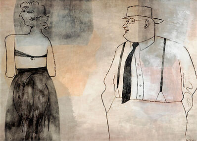 Ben Shahn, 'Suzanna and the Elders', 1940-1950