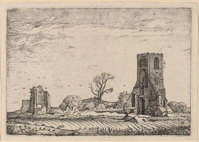 Willem Buytewech, 'Ruins of a Church (Chapel of Eykenduynen near The Hague)', 1621