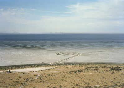Victoria Sambunaris, 'Untitled (Homage to Robert Smithson, Spiral Jetty, Great Salt Lake, Utah)', 2016