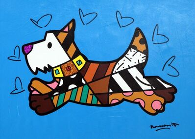 Romero Britto, 'Scottie', 2019
