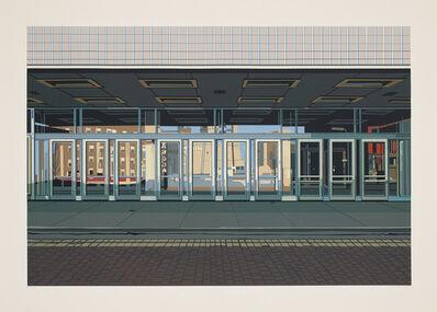 Richard Estes, 'Ten Doors, from Urban Landscapes', 1972