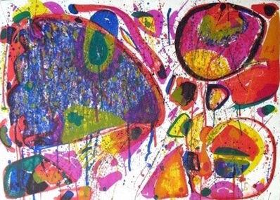 Sam Francis, ' Bright Jade Ghost, Variant IV', 1963