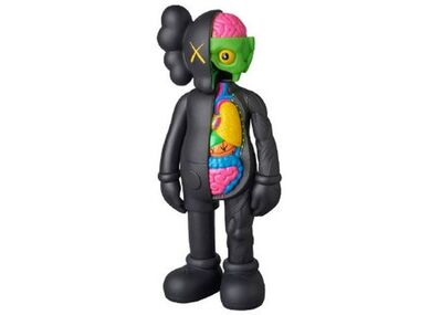 KAWS, 'Companion Flayed, Black (Open Edition)', 2016