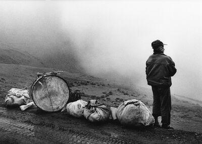 Flor Garduño, 'Músico en la Nada, Bolivia', 1996