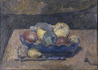 Giorgio Morandi, 'Natura morta con frutta', 1927