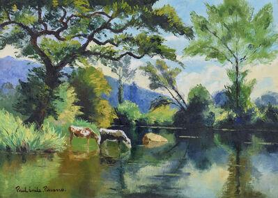 Paul-Emile Pissarro, 'L'Abreuvoir', ca. 1950