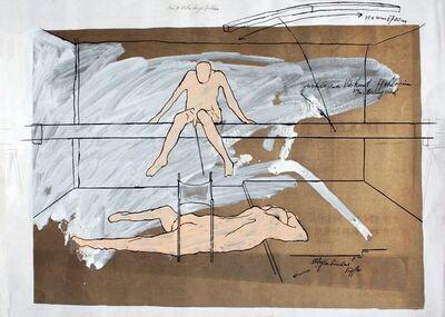 Bruno Gironcoli, 'Der 7 Meter lange Balken', 1969