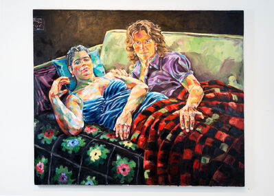Joan Cox, 'Night Hunger, After Xenia Hausner', 2012