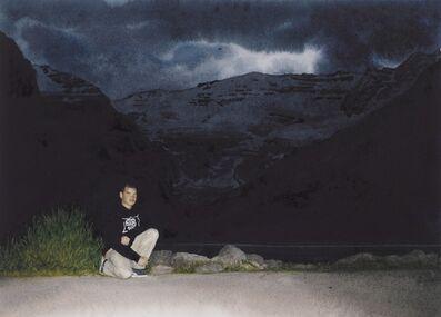 Tim Gardner, 'Black Self-Portrait: Lake Louise', 2002