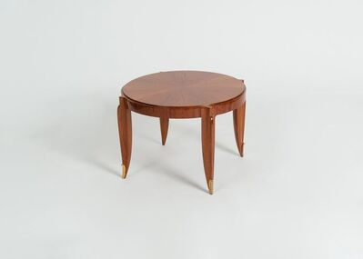 Jean Pascaud, 'ROUND COFFEE TABLE', ca. France-circa 1935