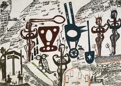 Carlo Zinelli, 'Untitled', 1971