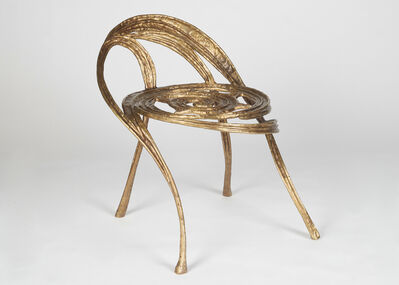 Franck Evennou, 'Phoenix, Contemporary side Chair', France-2020