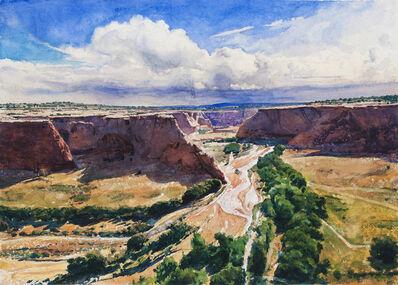 Bob Stuth-Wade, 'Tsegi Overlook, Canyon de Chelly', 2016