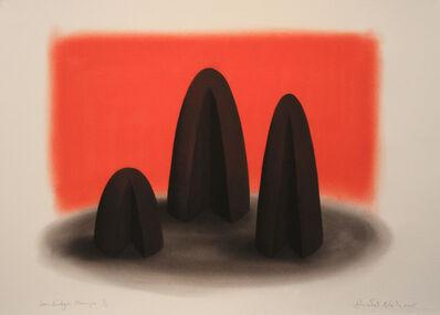 David Nash, 'Ironbridge Humps', 2015