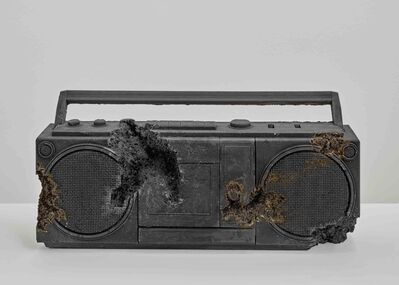Daniel Arsham, 'Steel Eroded Radio', 2013