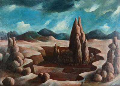 Julio De Diego, 'Rock Formations', 1950