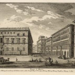 Giuseppe Vasi, 'Piazza S. Marco', 1747