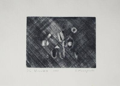 Tatsuo Kawaguchi, 'Birth from Darkness', 1963