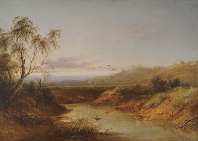 J.H. Carse, 'Near Camperdown', 1870