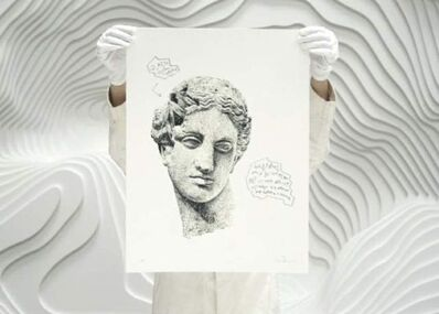 Daniel Arsham, 'Eroded Classical Prints', 2020