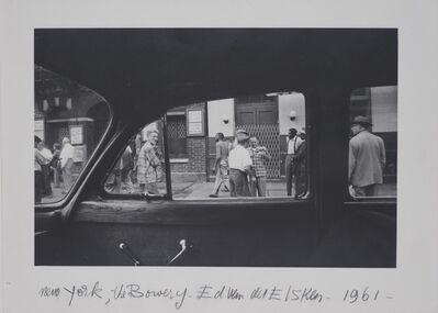 Ed van der Elsken, 'The Bowery, New York', 1960
