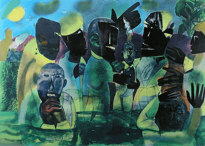 Romare Bearden, 'The Baptism', 1975