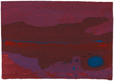 Helen Frankenthaler, 'Japanese Maple', 2005