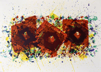 Sam Francis, 'J, from: Untitled Variants (SF-264)', 1994