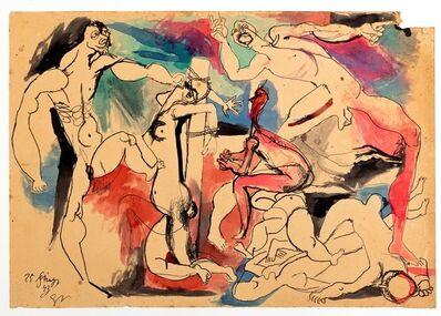 Renato Guttuso, 'Study for Crucifixion', 1943