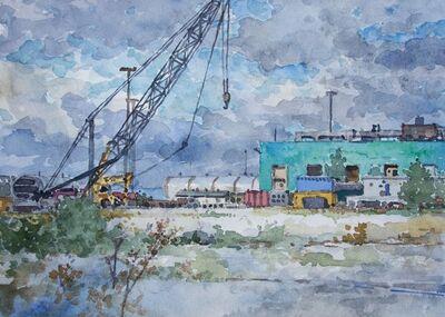 Derek Buckner, 'Construction Crane'