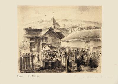 Paul Albert Moras, 'Village ', 1926